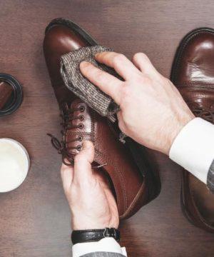 limpieza zapato