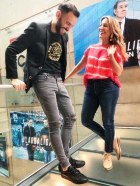 Carla Rebello y <br>Nicolás Munafó